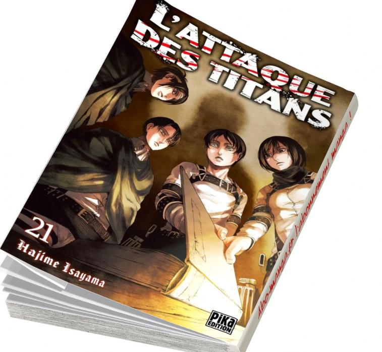 Abonnement L'Attaque des Titans tome 21