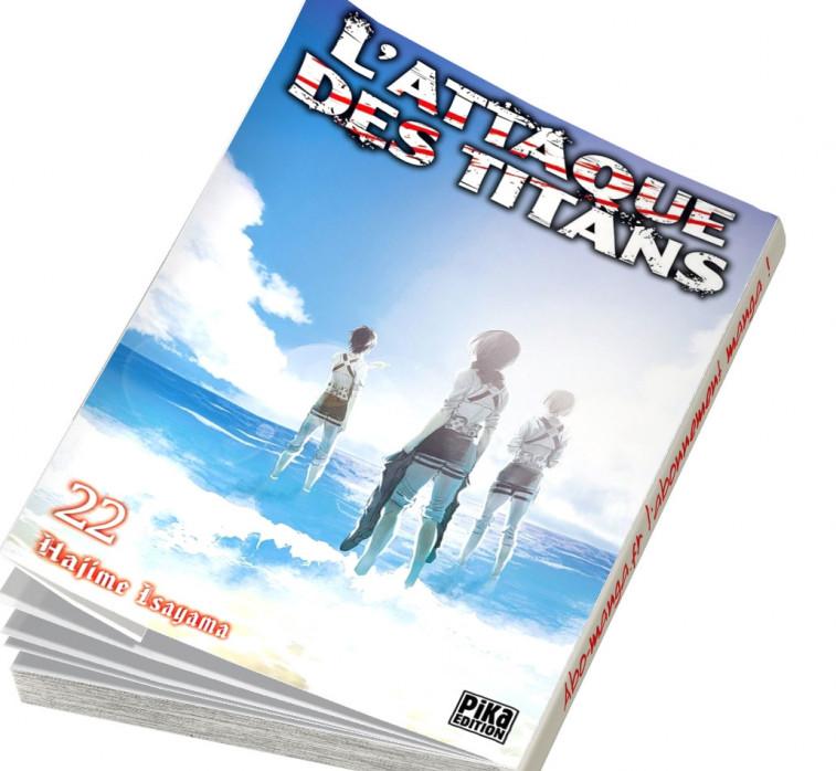 Abonnement L'Attaque des Titans tome 22