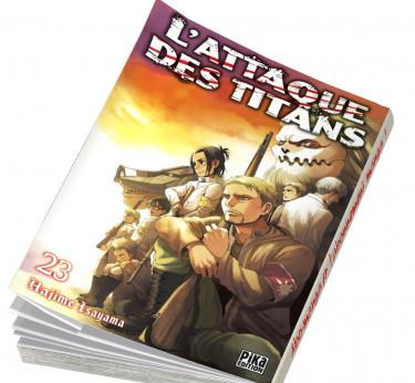 L'Attaque des Titans L'Attaque des Titans T23
