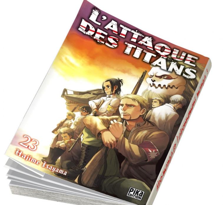 Abonnement L'Attaque des Titans tome 23