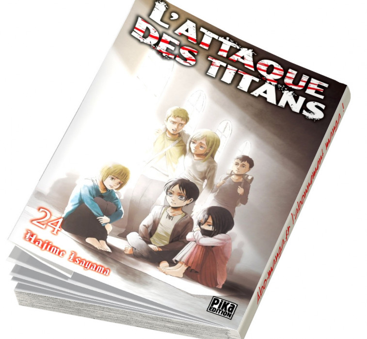 Abonnement L'Attaque des Titans tome 24