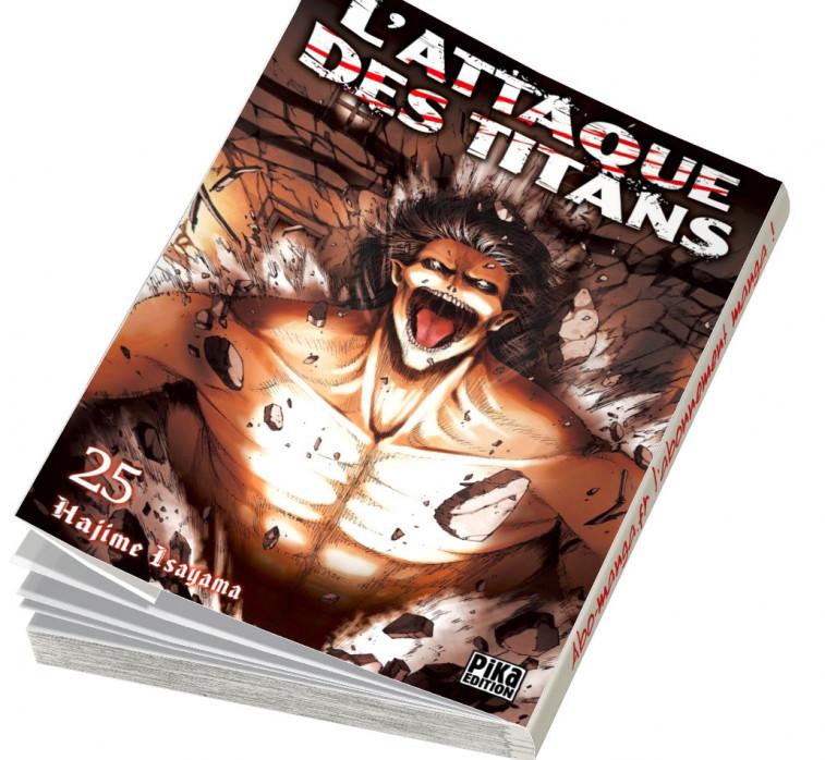Abonnement L'Attaque des Titans tome 25