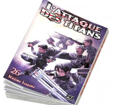 L'Attaque des Titans L'Attaque des Titans T26