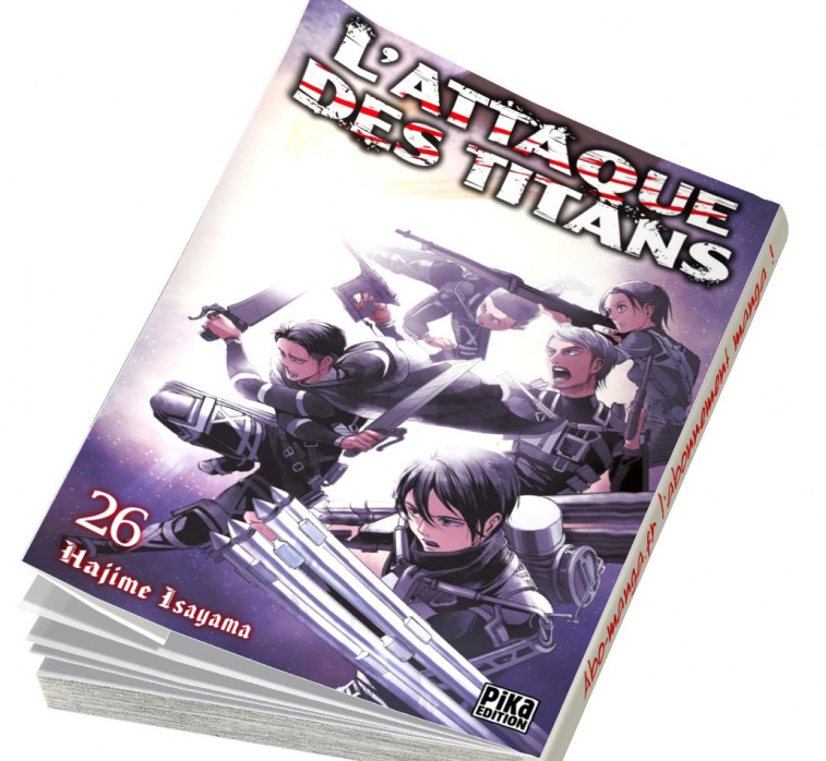 Abonnement L'Attaque des Titans tome 26