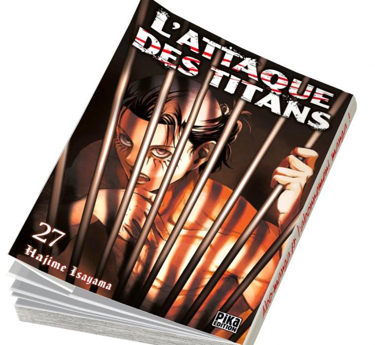 Abonnement L'Attaque des Titans tome 27