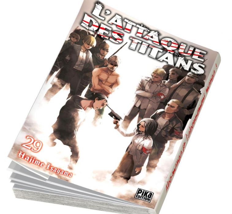 Abonnement L'Attaque des Titans tome 29