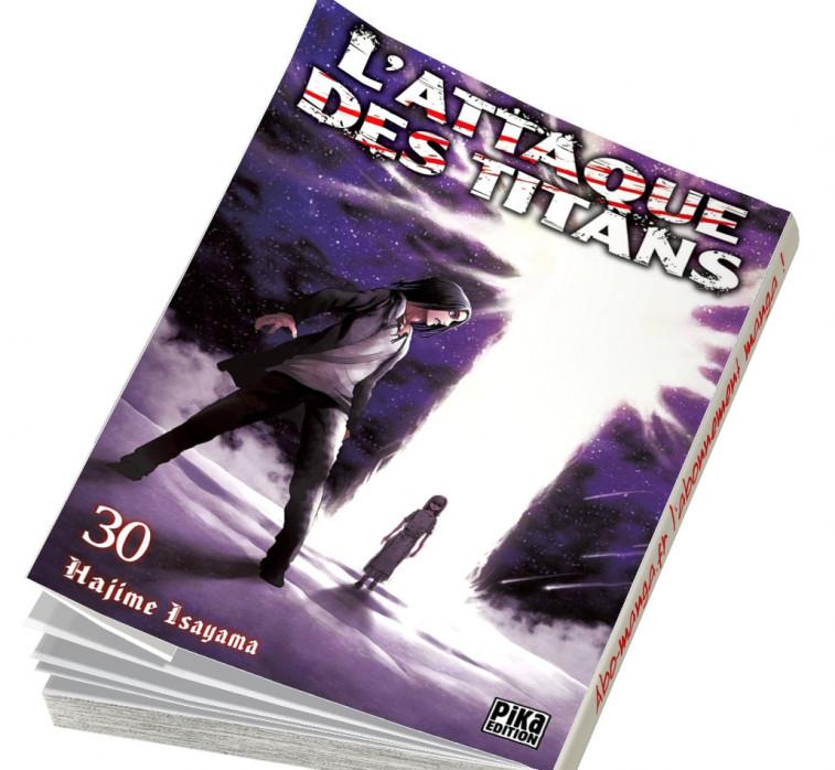 Abonnement L'Attaque des Titans tome 30