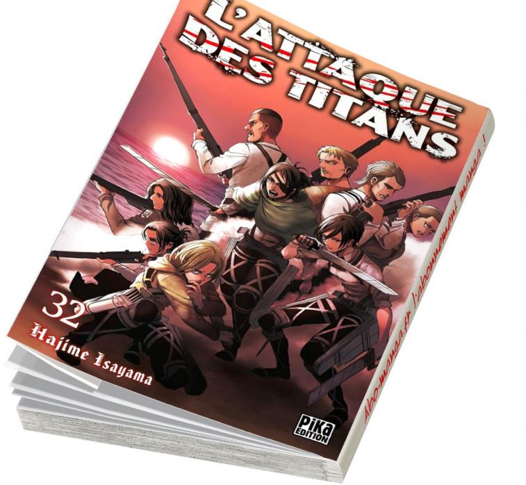 Abonnement L'Attaque des Titans tome 32