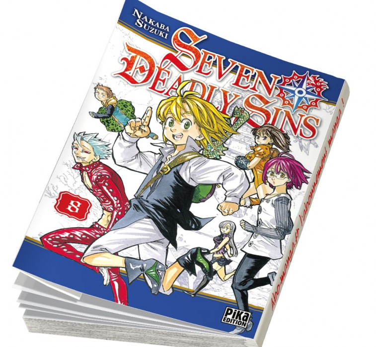 Abonnement Seven Deadly Sins tome 8