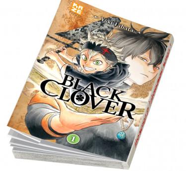 Black Clover Black Clover T01