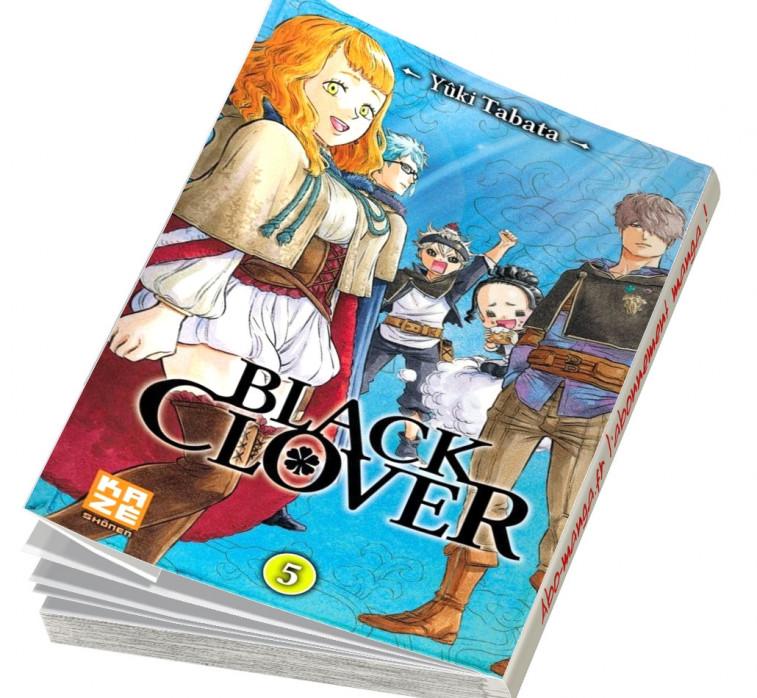 manga Black Clover Tome 5