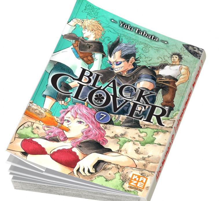 Abonnement Black Clover tome 7