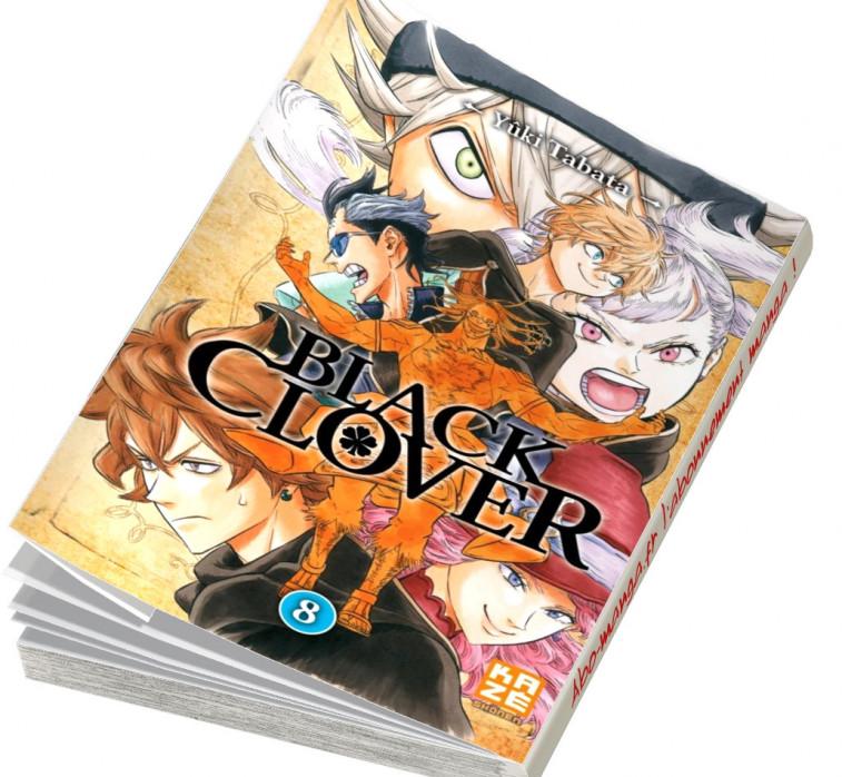 Abonnement Black Clover tome 8