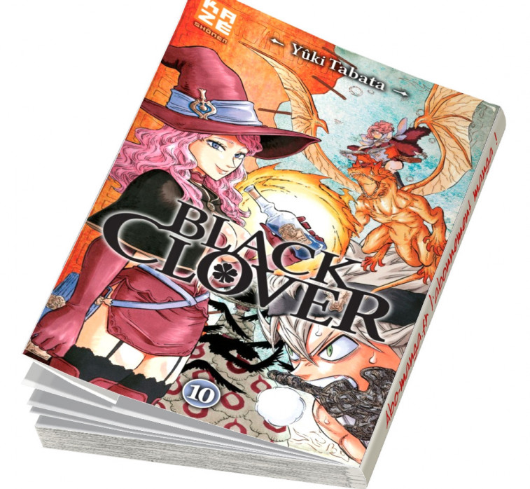 Abonnement Black Clover tome 10