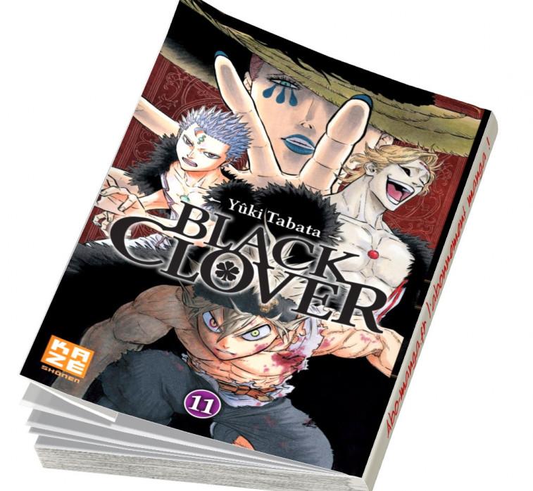 Abonnement Black Clover tome 11
