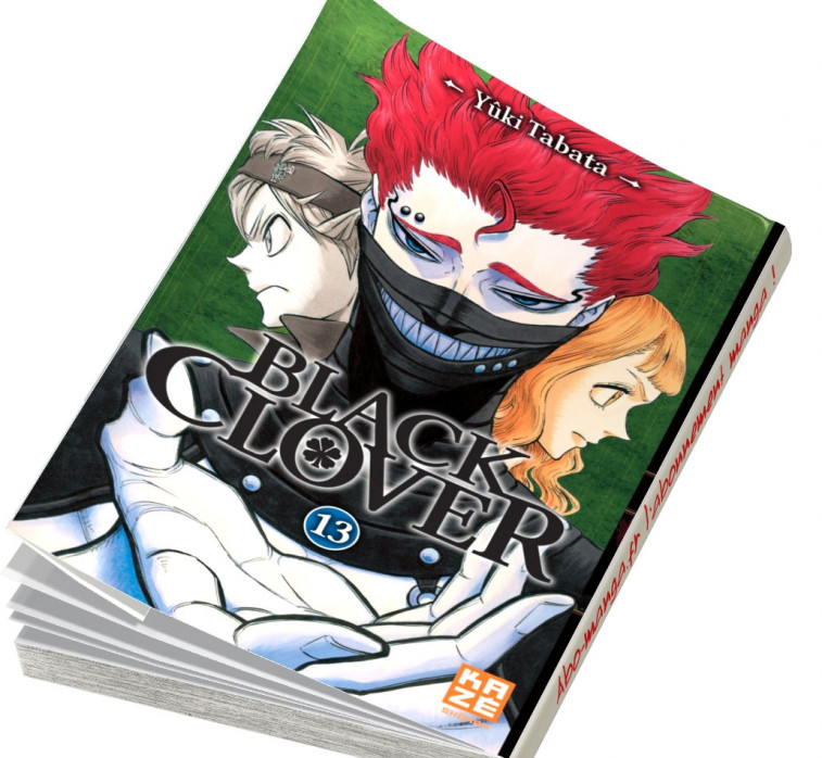 Abonnement Black Clover tome 13