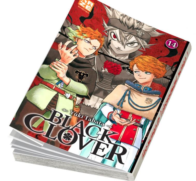 Abonnement Black Clover tome 14