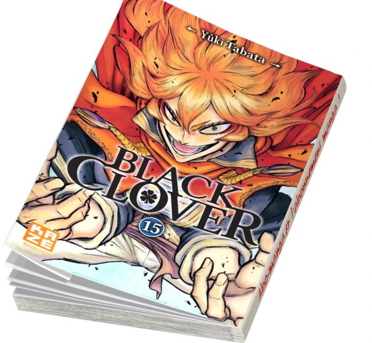 Abonnement Black Clover tome 15