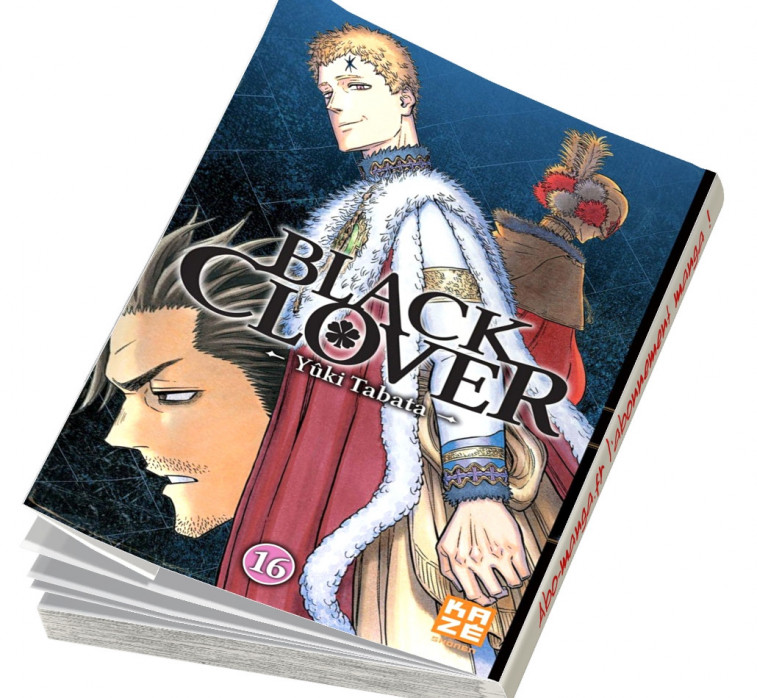 Abonnement Black Clover tome 16