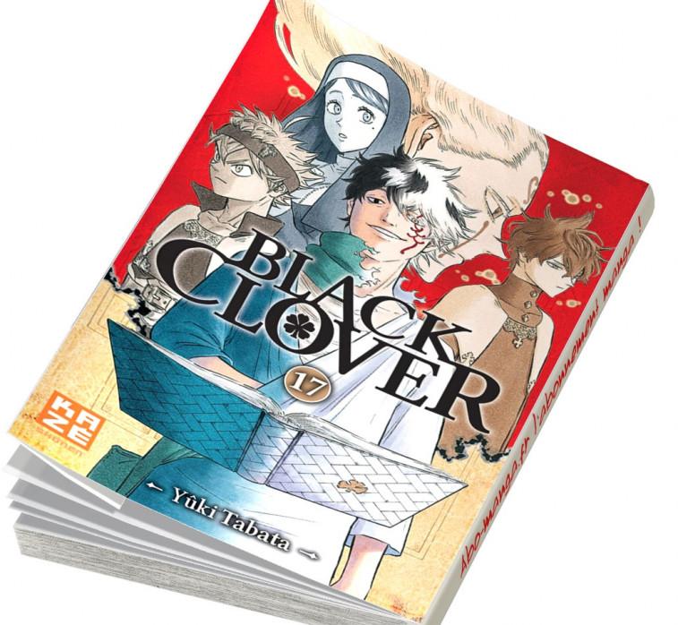 Abonnement Black Clover tome 17