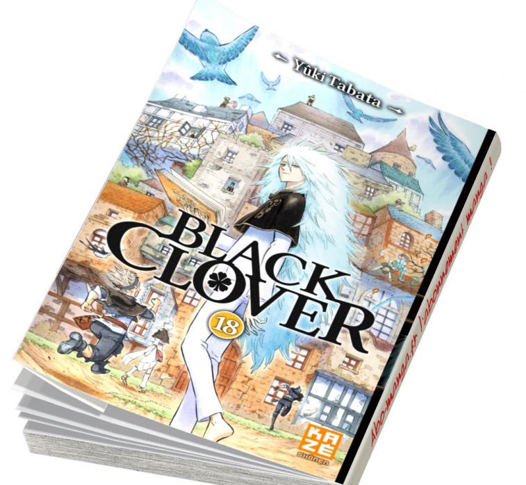Abonnement Black Clover tome 18