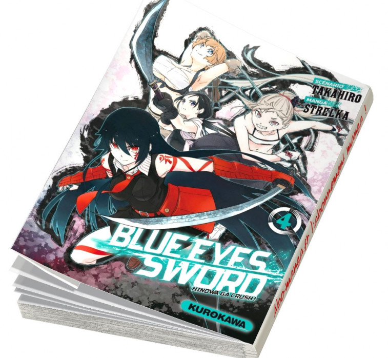 Abonnement Blue Eyes Sword tome 4