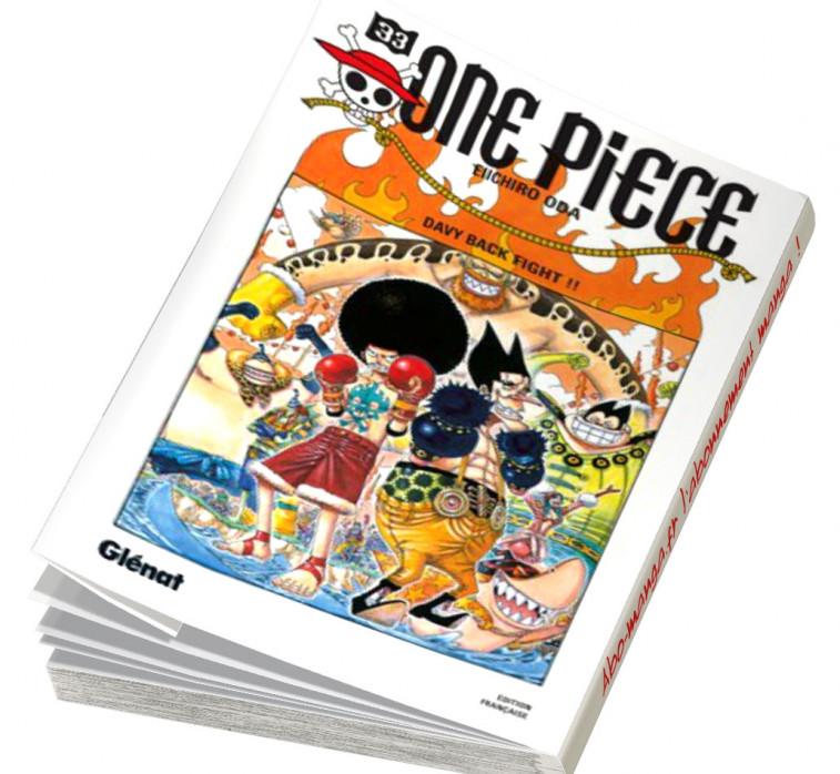 Abonnement One Piece tome 33