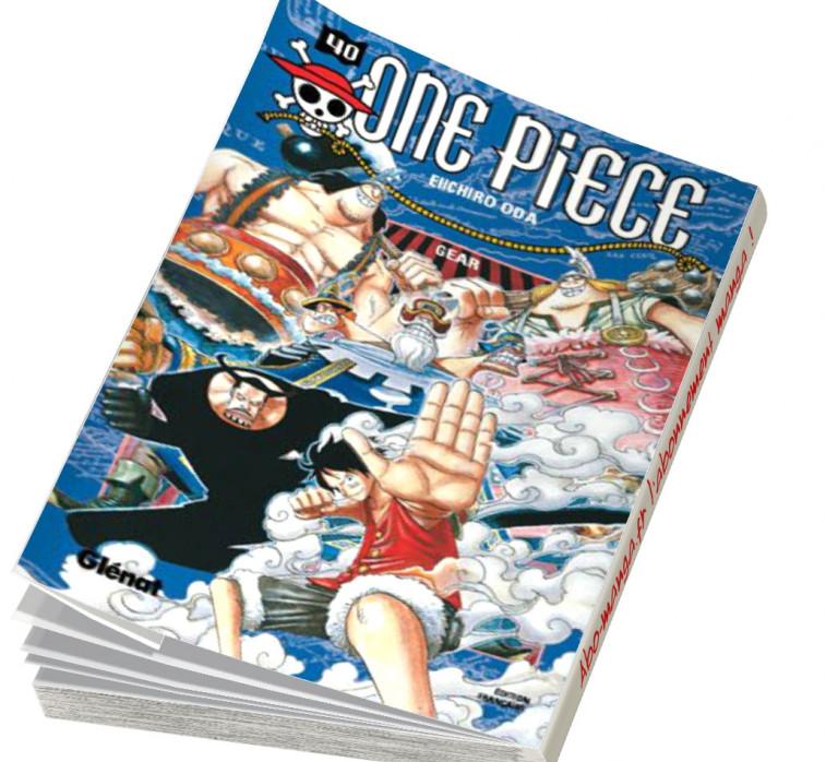 Abonnement One Piece tome 40