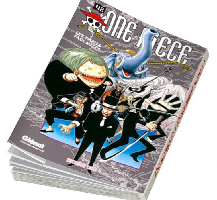 Abonnement One Piece tome 42