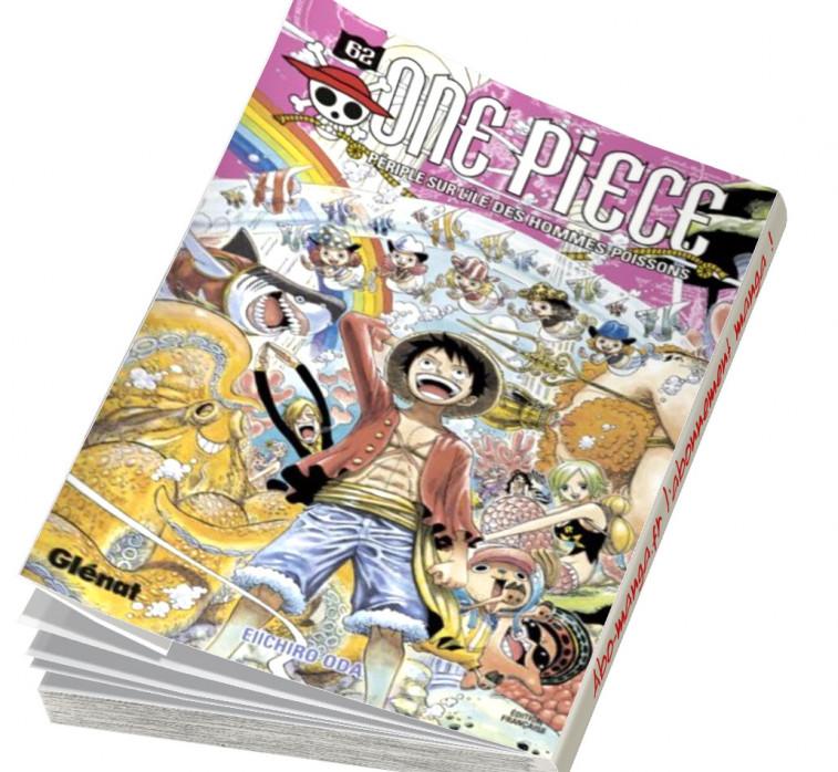 Abonnement One Piece tome 62