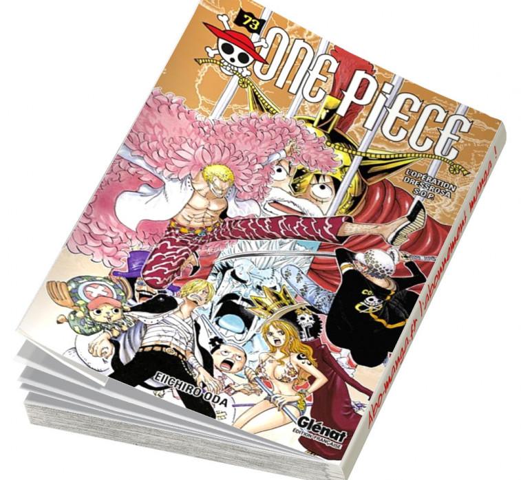 Abonnement One Piece tome 73