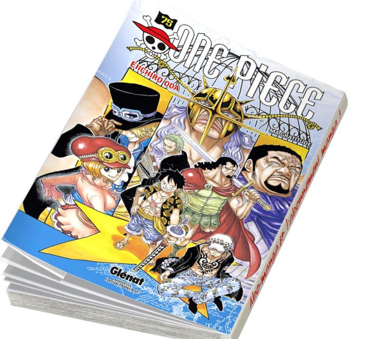 Abonnement One Piece tome 75