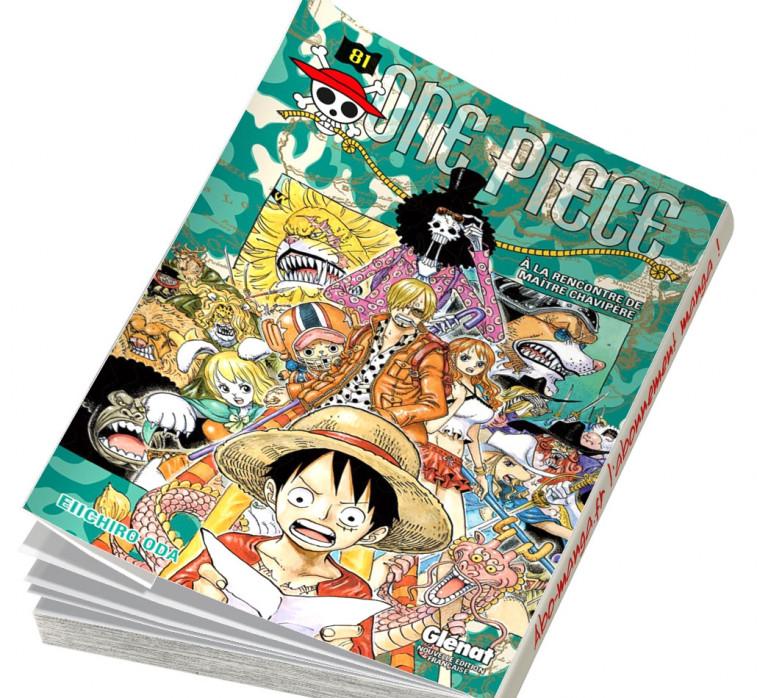 Abonnement One Piece tome 81