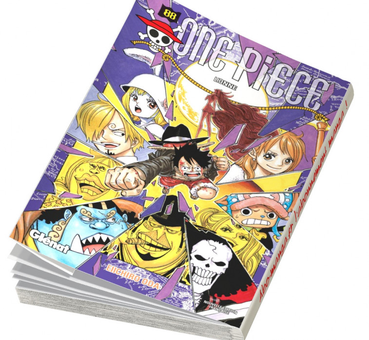 Abonnement One Piece tome 88