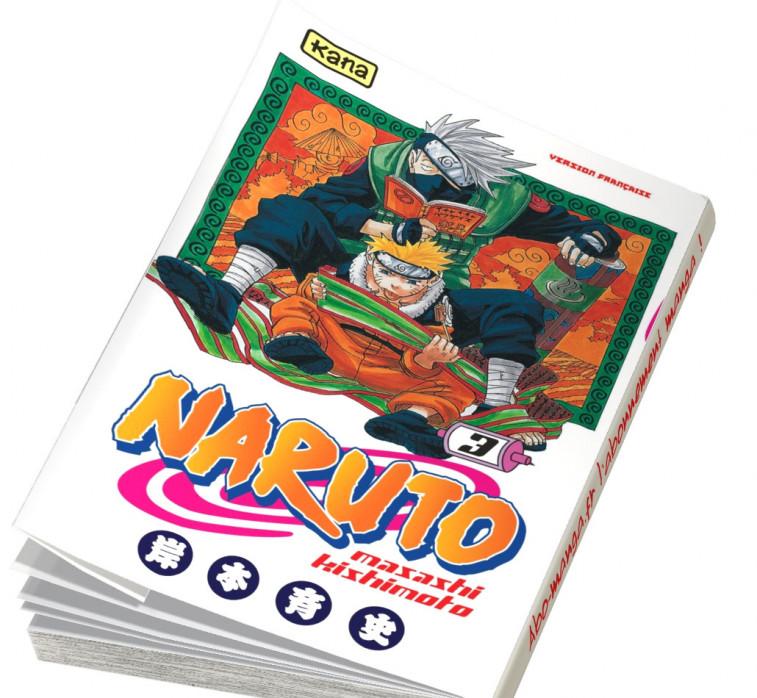 Abonnement Naruto tome 3