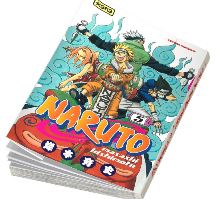 Abonnement Naruto tome 5