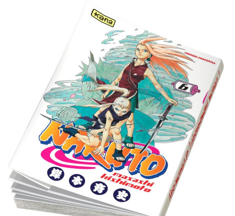 Abonnement Naruto tome 6