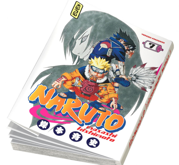 Abonnement Naruto tome 7