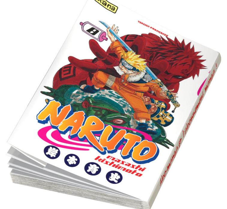 Abonnement Naruto tome 8