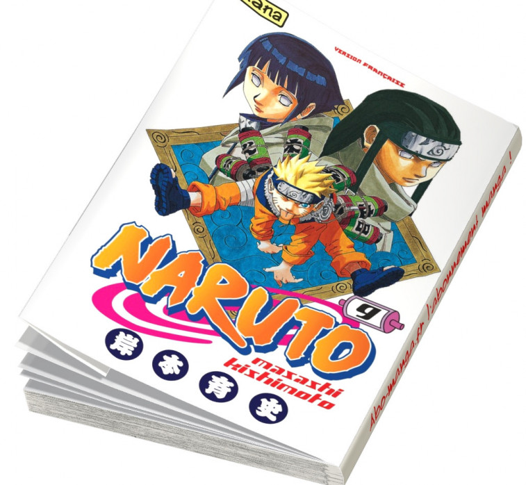 Abonnement Naruto tome 9