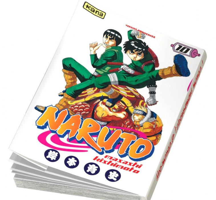 Abonnement Naruto tome 10