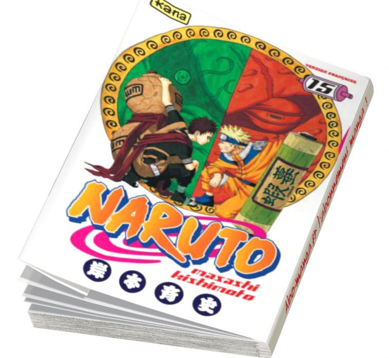 Abonnement Naruto tome 15