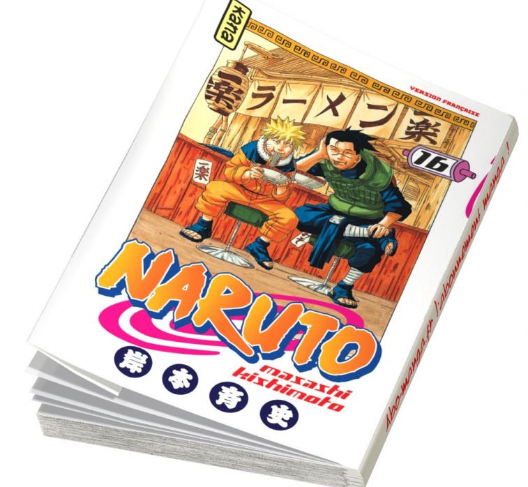 Abonnement Naruto tome 16