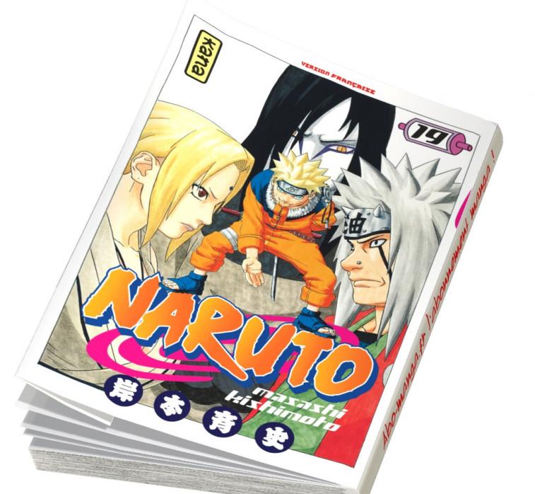 Abonnement Naruto tome 19