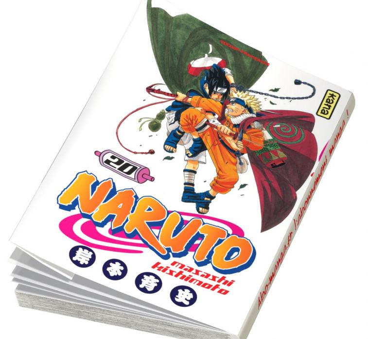 Abonnement Naruto tome 20