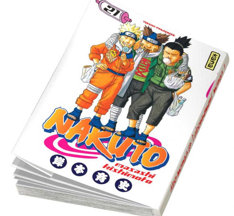 Abonnement Naruto tome 21