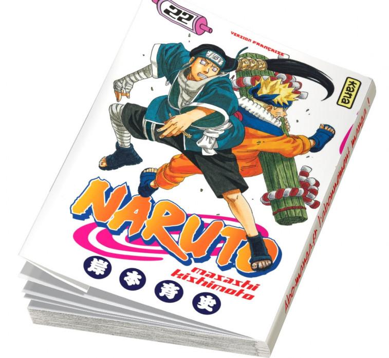 Abonnement Naruto tome 22