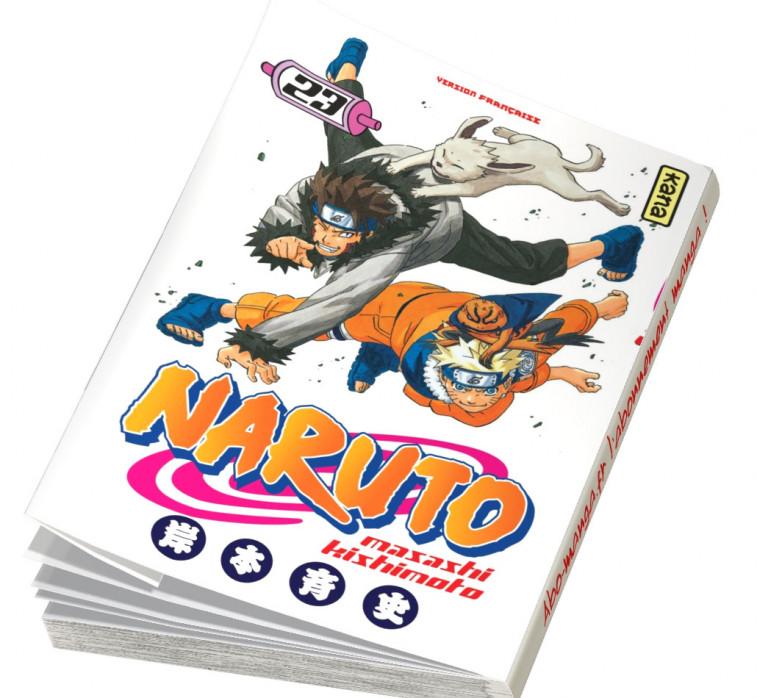 Abonnement Naruto tome 23