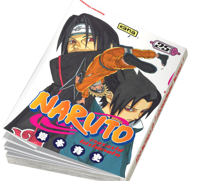 Abonnement Naruto tome 25