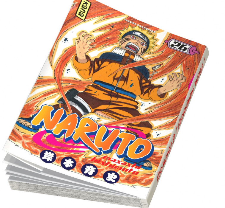 Abonnement Naruto tome 26